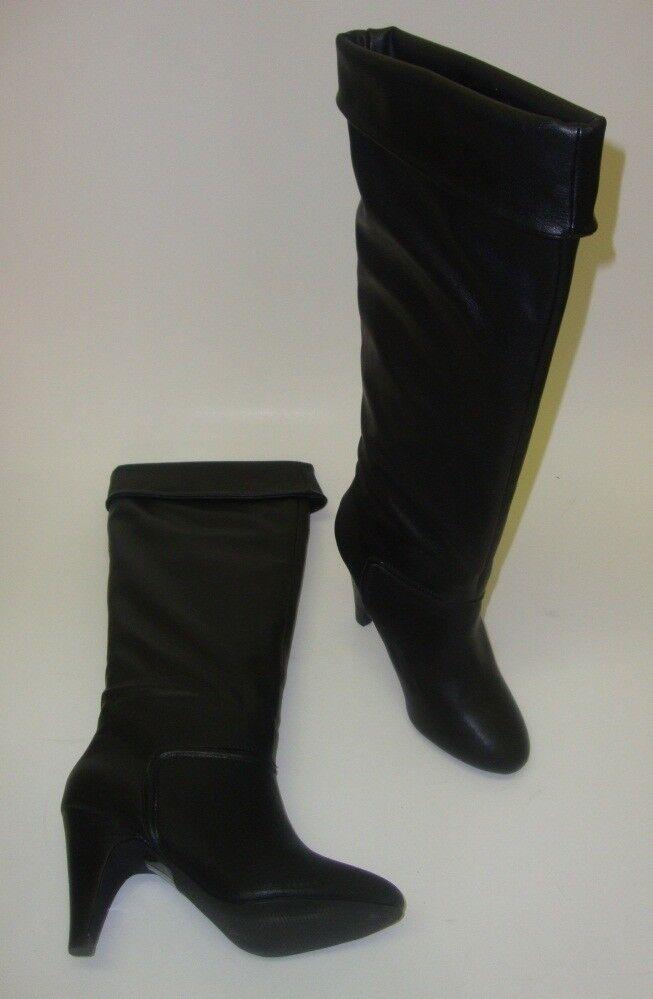 Colin Stuart señora botas rodilla alta botas negro negro 38,5 nuevo