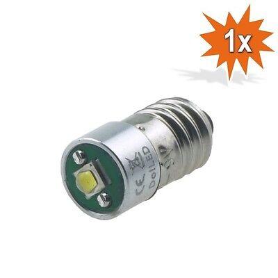 Cree LED E10 Lampe Birne Taschenlampe 220 lm Weiss 1 - 3 Volt DC 3 WATT 6500K
