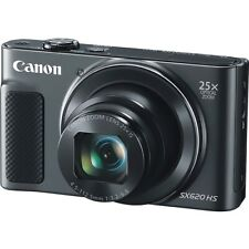 Canon 1072C001 Digital Camera 20.2 MP Optical Zoom (Black)