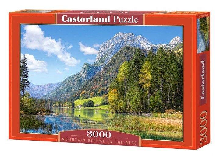 Castorland puzzle 3000 - die alpen