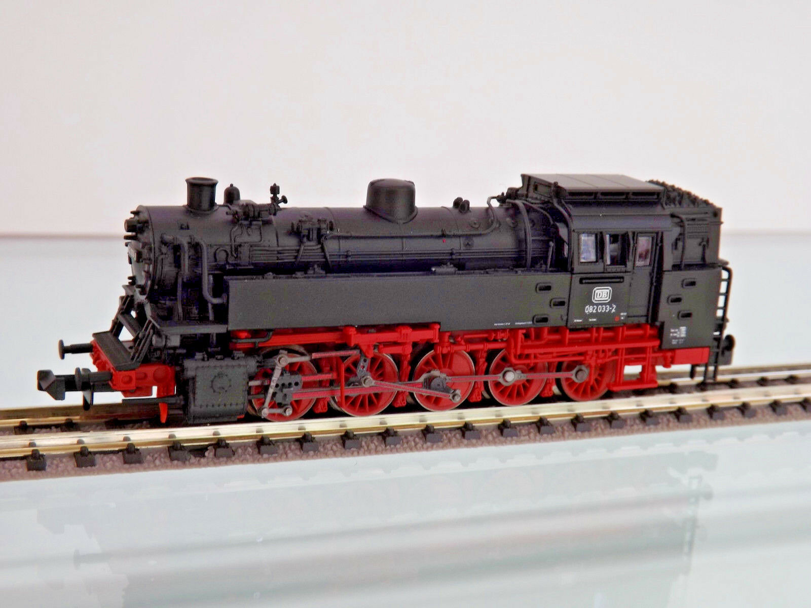 PIKO 40103-Spur N-Locomotiva BR 82 033-2 delle DB, Ep. IV-NUOVO OVP