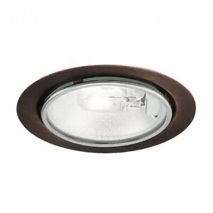 Details About Wac Lighting Low Voltage Round Xenon On 12v 20w Copper Hr 86 Cb New In Box