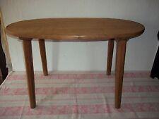 antiker Beistelltisch-Eiche massiv-Tisch oval 83 x 45