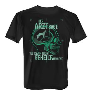 Médecin Malinois T-Shirt Hommes Fun Shirt sort cadeau idée chiens propriétaire Cool