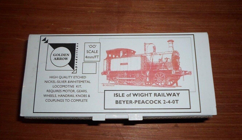 Isle of Wight Railway Beyer Peackock 2-4-0T 4mm finescale loco kit, all metal