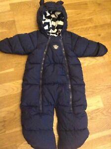 43f574414 Baby Boy H M snowsuit   pram suit   sleeping bag 2-6 months