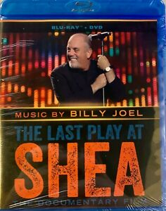 The Last Play at Shea (Blu-ray/DVD, 2014, 2-Disc)Billy Joel- Rare Edition- New