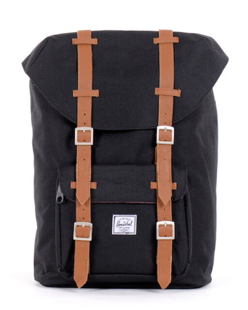 Herschel Supply Co. Mid Volume Little America Backpack Bag - Black