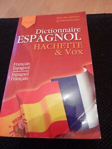 Dictionnaire-De-Poche-Espagnol-Hachette-Et-Vox