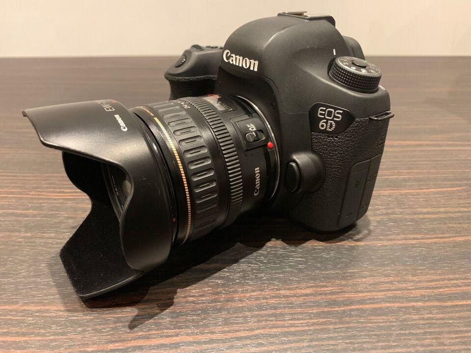 Canon, 6D, God