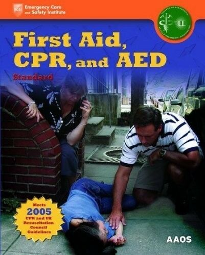 1 of 1 - First Aid, CPR and AED Layperson, 0763751464, New Book