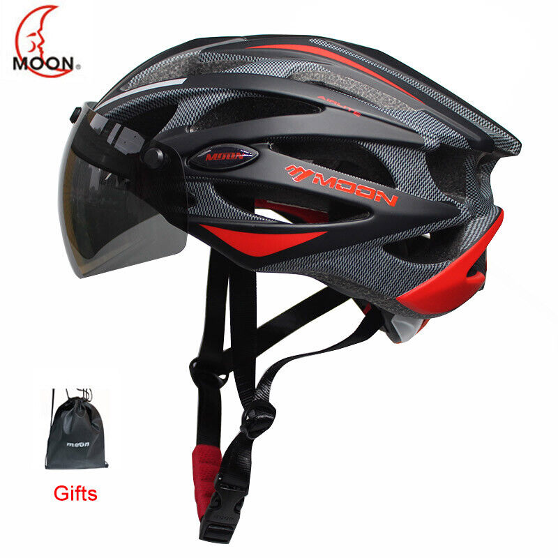 MOON Integrally-molded Cycling Helmet for Racing Ultralight Bicycle Helmet