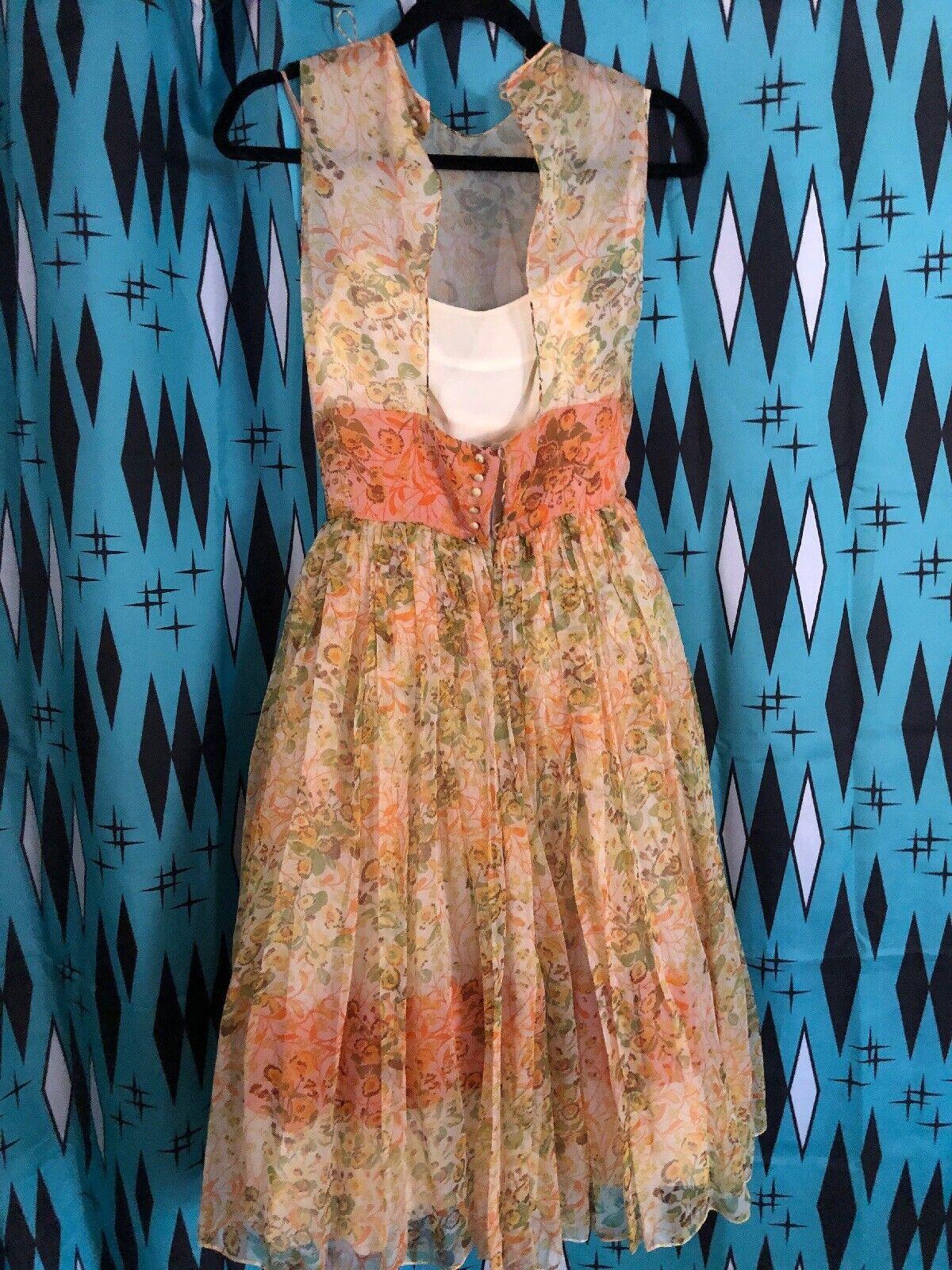 Vintage Pauline Trigère 1950's Party Dress  - image 5