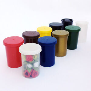CHOOSE-9-Colours-1-5-10-20-30-100-x-Film-canisters-containers-pots-tubs-can-box
