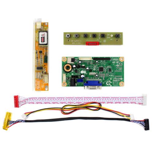 """Vga LCD Controller Board trabajo para 16.4/"""" LQ164D1LD4A 1600x900 Pantalla Lcd"""