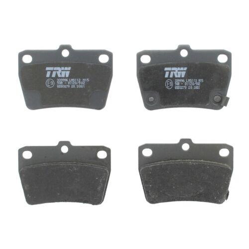 Plaquettes de frein frein à disque TRW gdb3279