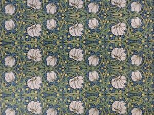 Wallpaper-Pimpernel-William-Morris-Design-Dolls-House-Miniature-DIY-Decor