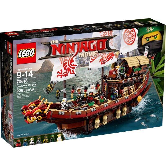 Lego Ninjago Destiny Bounty 70618 BNIB lot2