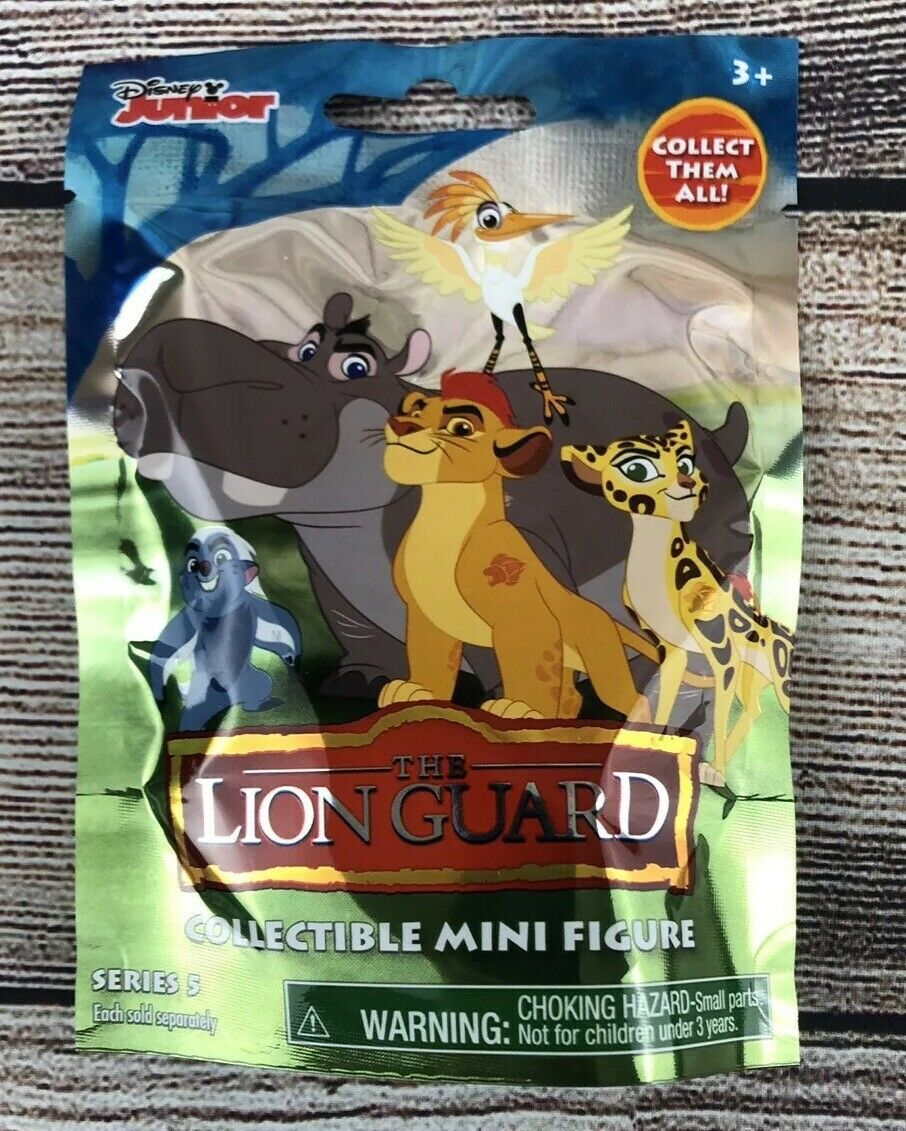 New in bag THE LION GUARD Roaring Kion mini blind bag figure Disney Jr Series 3