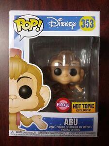 Funko POP DISNEY #353 Abu Aladin VINILE figure Flocked