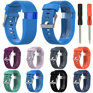 Replacement-Silicone-Watch-Band-WristBand-Strap-For-Fitbit-Charge-HR-Bracelet