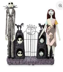 Jack-Skellington-amp-Sally-Limited-Edition-Dolls-Set-25th-Anniversary-Nightmare
