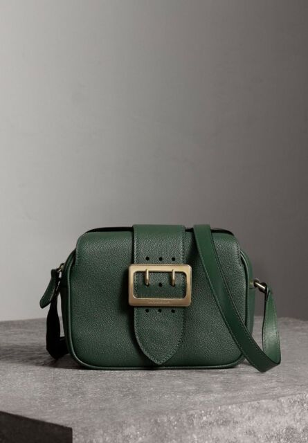 028dfc7a2c00 Burberry The Small Buckle Crossbody Bag in Leather Sea Green for ...