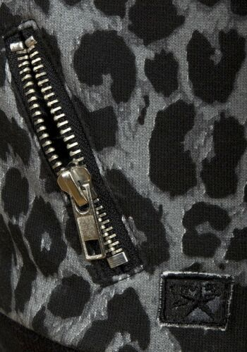 Top 2 3 4 5 6 7 8 anni GIRL/'s stampa leopardata Foderato In Pile Felpa Zipper Giacca