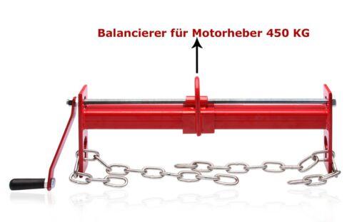 Linksausdreher Ausdreher Balancierer Balancer Traverse  Motorheber 5 tlg