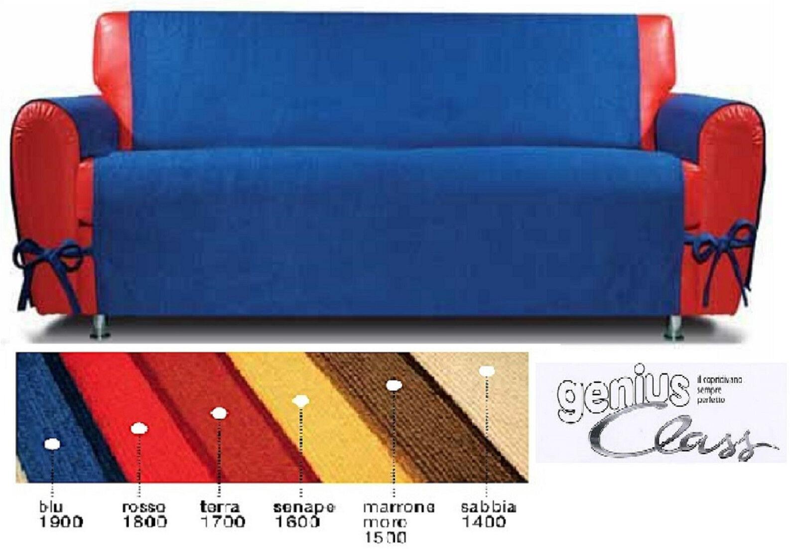 Copridivano con fiocchi genius class clarky biancaluna divani da 2 e 3 posti ebay - Copridivano angolare con cuscini fissi ...