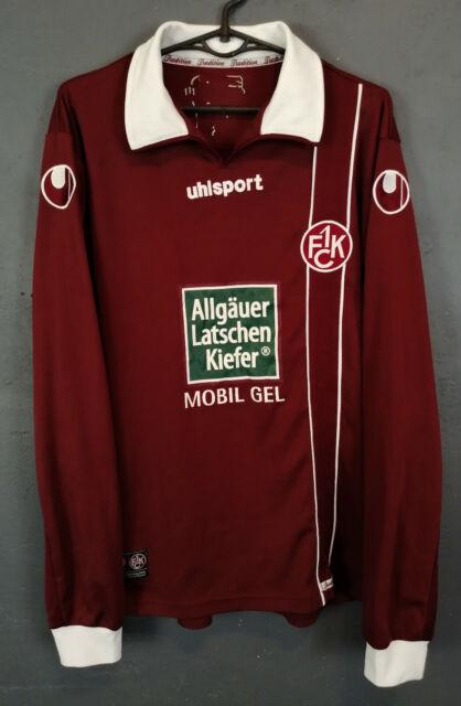 MENS FC KAISERSLAUTERN 2011/2012 LONG SLEEVE SOCCER FOOTBALL SHIRT JERSEY SIZE S