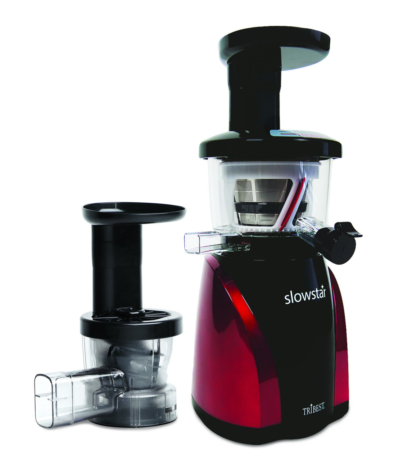 SlowStar Low Speed greenical Juicer with Mincer & Juice Cap TriBeste SW-2000