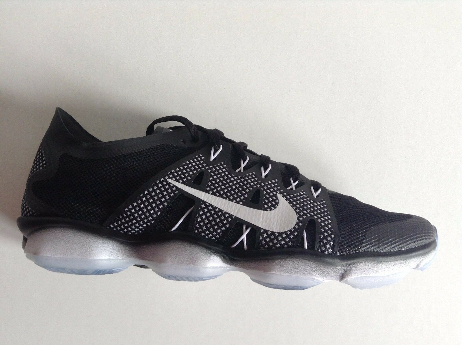 Wo Hommes Nike Air Zoom Running Fit Agility 2 Trainers Running Zoom Chaussures Noir 5-5.5 - NEW 87730b