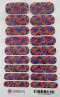 Jamberry Hint of Marsala Nail Wrap ( Full Sheet ) 4R49 New in Packaging