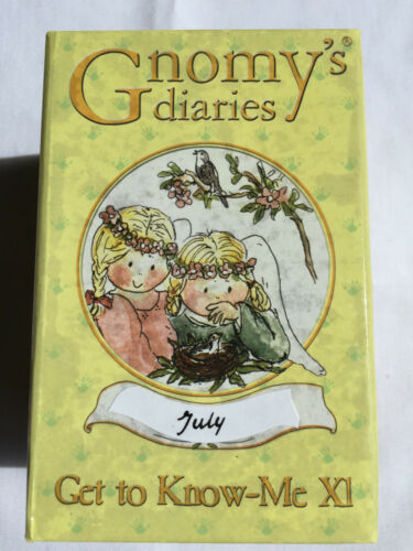 2002 by Annekabouke NEW in Box GNOMY/'S Dairies July ANGEL of the MONTH