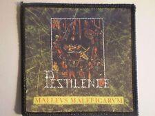 Pestilence - Malleus Maleficarum Patch KREATOR DEATH DARK ANGEL ASPHYX ENTOMBED