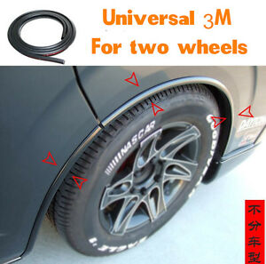 Universal-118-039-039-Car-Fender-Flares-Extension-Wheel-Eyebrow-Protector-Lip-Moulding