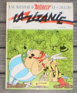 Details Sur Livre Bd Asterix Le Gaulois La Zizanie De Uderzo Goscinny
