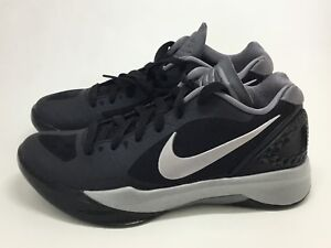 New Nike Volley Zoom Hyperspike Womens sz 5 Black Metallic Silver 585763 001