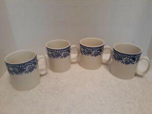 Spode-Blue-Delamere-4-Mugs