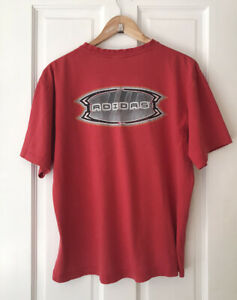 Vintage 90s Red Adidas T-shirt Size M Surf/Skater