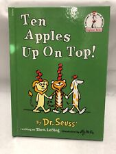 Beginner Books(R): Ten Apples up on Top! by Dr. Seuss (1961, Hardcover)