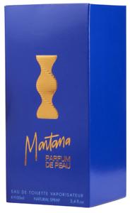 Detalles de Montana Parfum de Peau Eau de toilette 100ml Perfume Mujer descatalogado 3.3 oz
