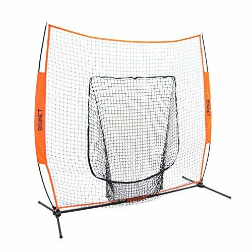 NEW Bow Net Baseball Softball Big Mouth Portable FREE SHIPPING