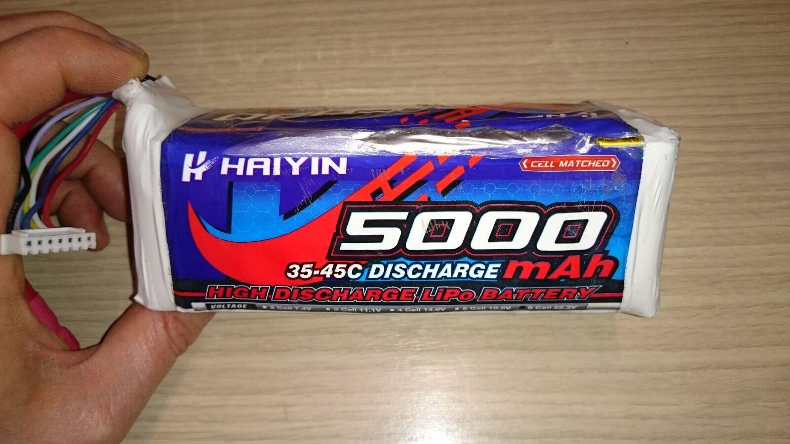 Lipo 6s HAIYIN 5000mAh 35-45c