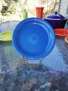 SALAD-bistro-PLATE-lapis-blue-NEW-HOMER-LAUGHLIN-FIESTA-7-1-4-034