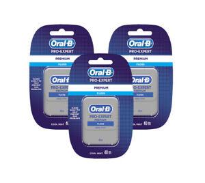 ORAL-B-Premium-Pro-Expert-Cool-Mint-Dental-Floss-40m-1-2-3-6-12-Pro-Expert-Pack
