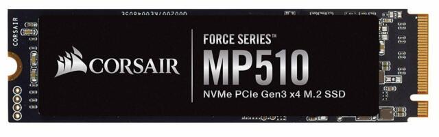 Corsair Force MP510 960GB nvme PCIe Gen3 x4 M.2 SSD Drive