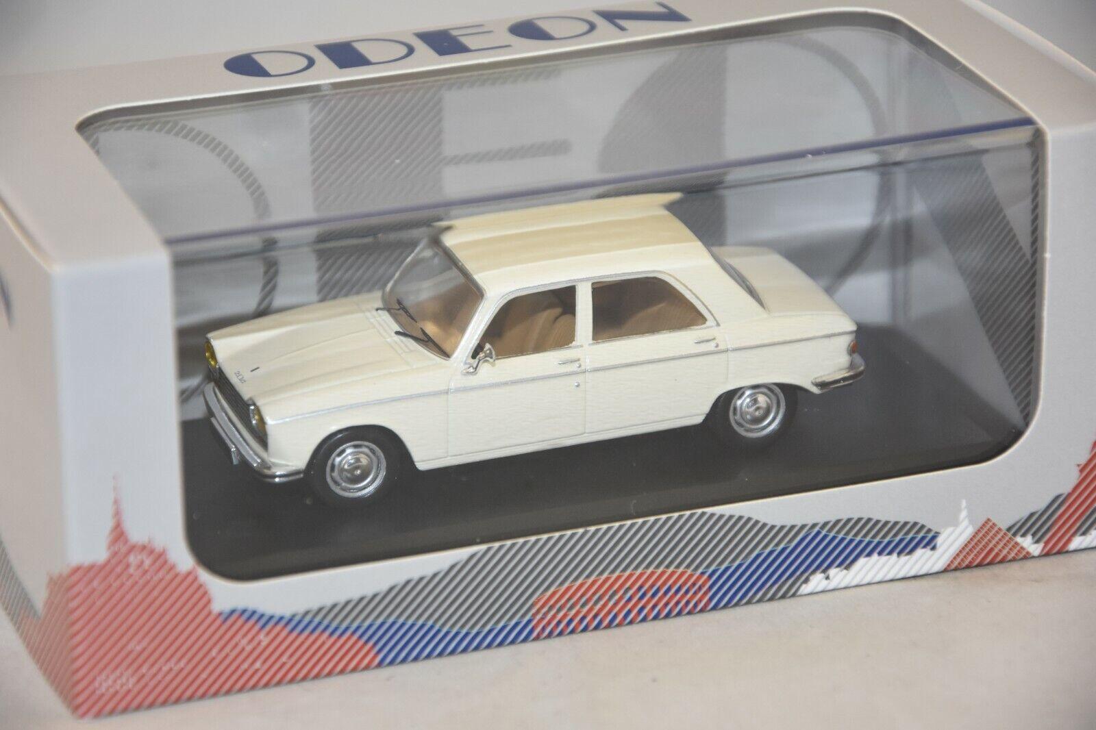 ODEON 031  - PEUGEOT 204 1967 Blanc 1 43