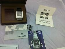 Vintage Rare Zenith Futur 1970's Time Command Retro Analogue LED digital Hybrid